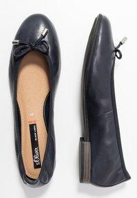 s.Oliver - 5-5-22112-24 - Ballet pumps - navy - 3
