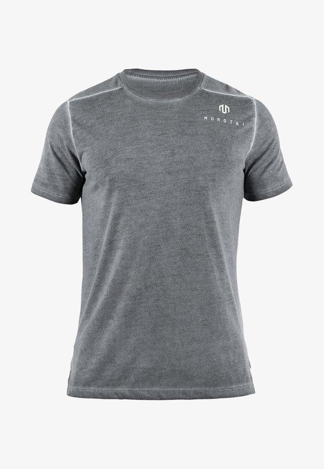 ACTIVE DRY - Basic T-shirt - black
