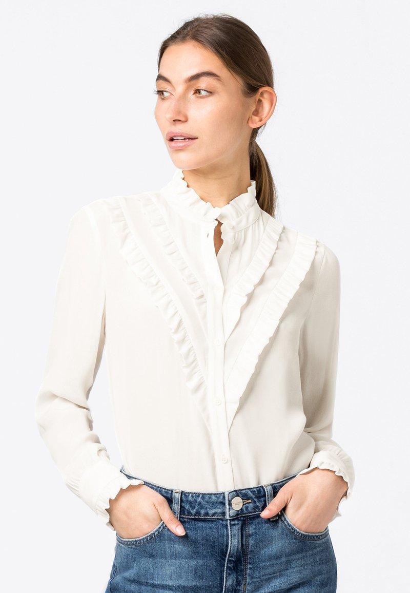 HALLHUBER - Button-down blouse - offwhite