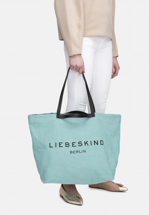 AURORA SHOPPER L SHOPPER AUS CANVAS - Tote bag - liquid blue