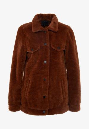 OBJBILLIE JACKET - Cappotto corto - brown patina