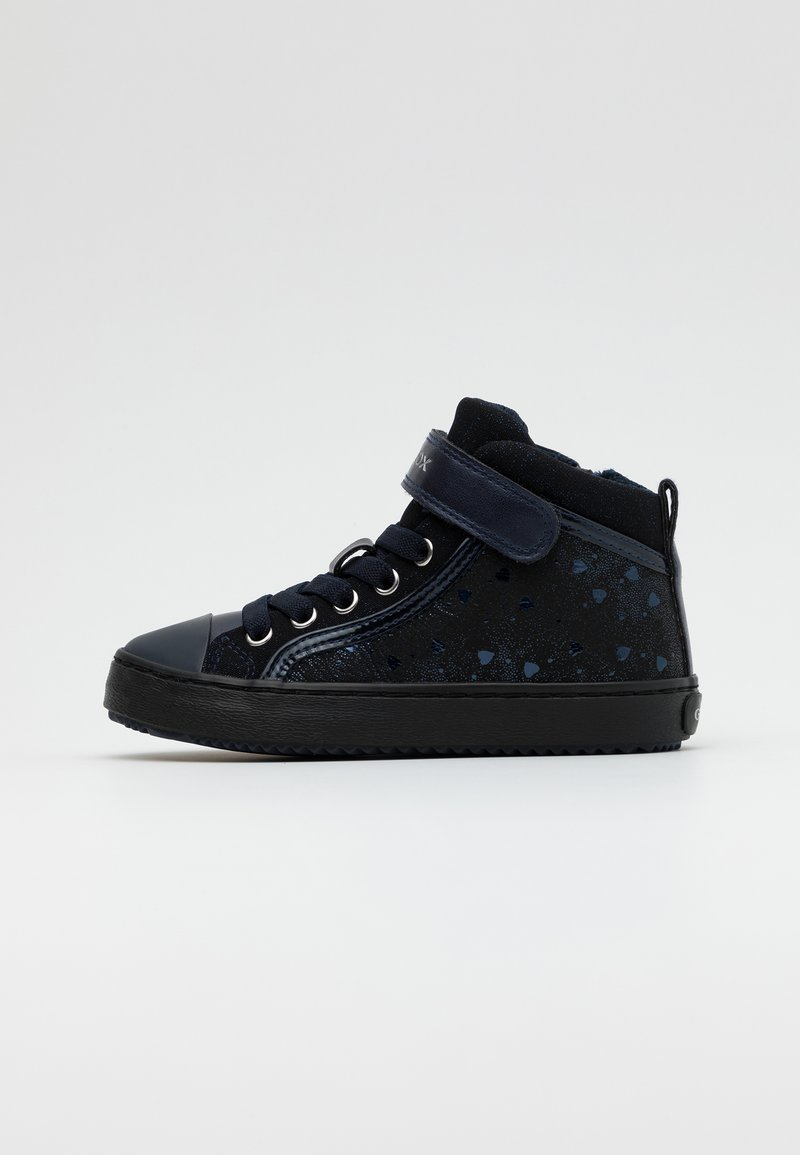 Geox - KALISPERA GIRL - Sneakersy wysokie - dark navy