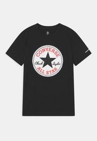 Converse - CHUCK PATCH GRAPHIC - Print T-shirt - black - 0