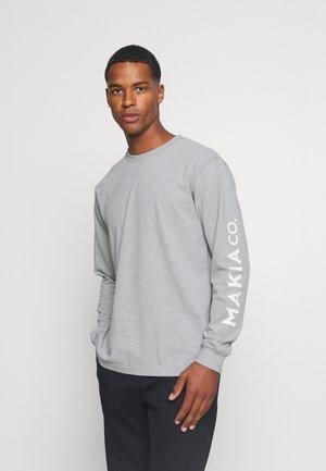 NUUK LONG SLEEVE - Pitkähihainen paita - grey