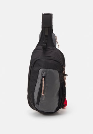 OUTDOOR SLING BAG UNISEX - Across body bag - black