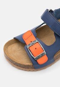 Kickers - FUXIO - Sandals - marine/orange - 5