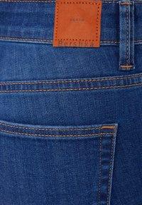 Bershka - MIT HOHEM BUND  - Jeans Skinny Fit - dark blue - 5