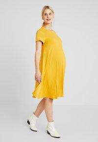 Glamorous Bloom - MINI PLAIN DRESS - Robe en jersey - mango - 0
