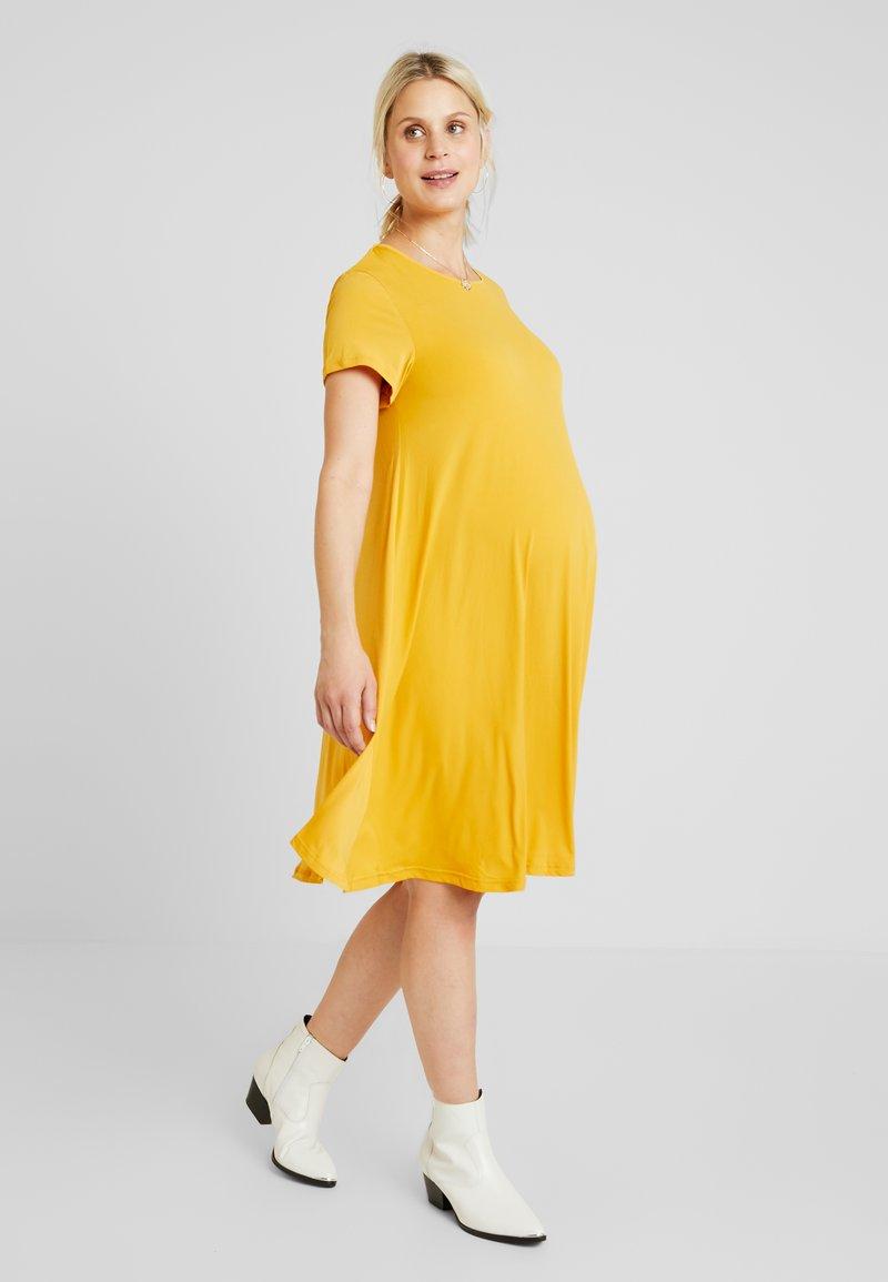 Glamorous Bloom - MINI PLAIN DRESS - Robe en jersey - mango