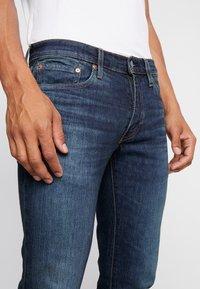 Levi's® - 511™ SLIM FIT - Jeansy Slim Fit - dark-blue denim - 4