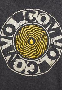 Volcom - VORTEXSPHERE - Print T-shirt - heather black - 2