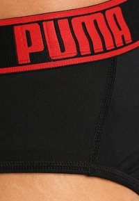 Puma - ACTIVE BRIEF 2 PACK - Slip - black/red - 4