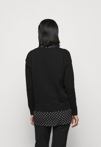 Lauren Ralph Lauren - GASSED COLLAR - Jumper - black - 2