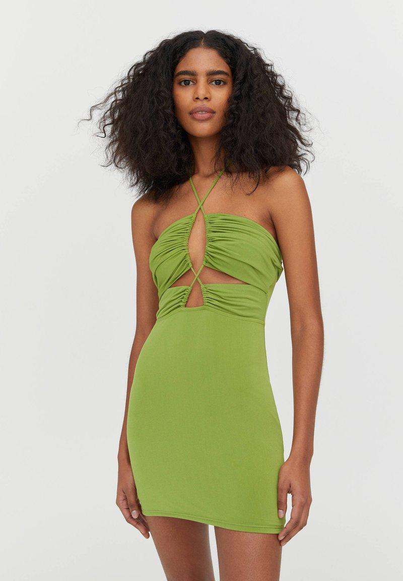 PULL&BEAR - Shift dress - light green