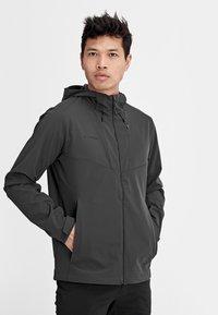 Mammut - Soft shell jacket - phantom - 2