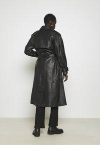 2nd Day - EDITION GRAF - Leather jacket - jet black - 2