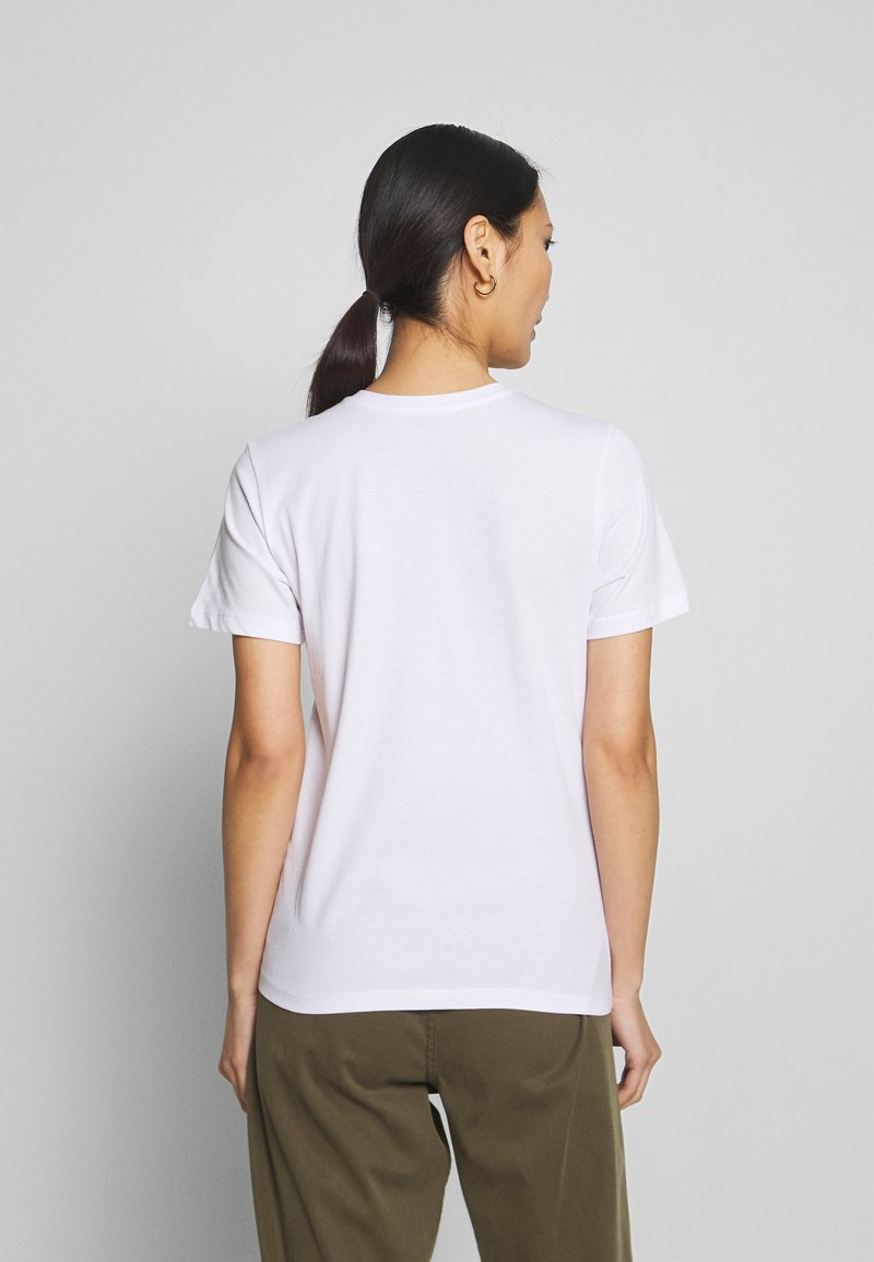 Anna Field T-Shirt print - white/weiß KquzOC