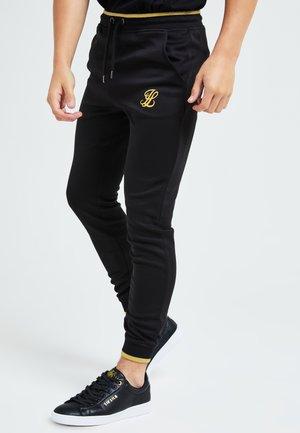 Tracksuit bottoms - black & gold