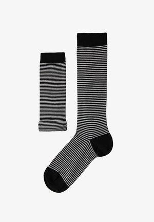 Over-the-knee socks - schwarz - black stripes