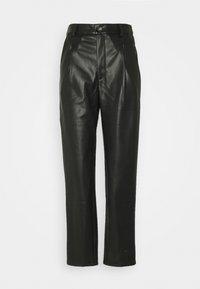 Noisy May Tall - NMCHIKA ANKEL PANTS  - Trousers - black - 0