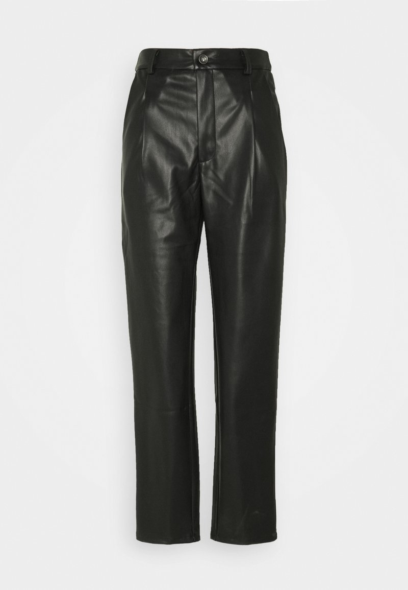 Noisy May Tall - NMCHIKA ANKEL PANTS  - Trousers - black