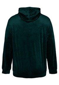 Zizzi - SAMT - Zip-up hoodie - dark green - 5