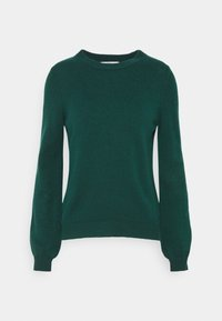 edc by Esprit - FITTED PUFFY - Jumper - dark teal green - 3