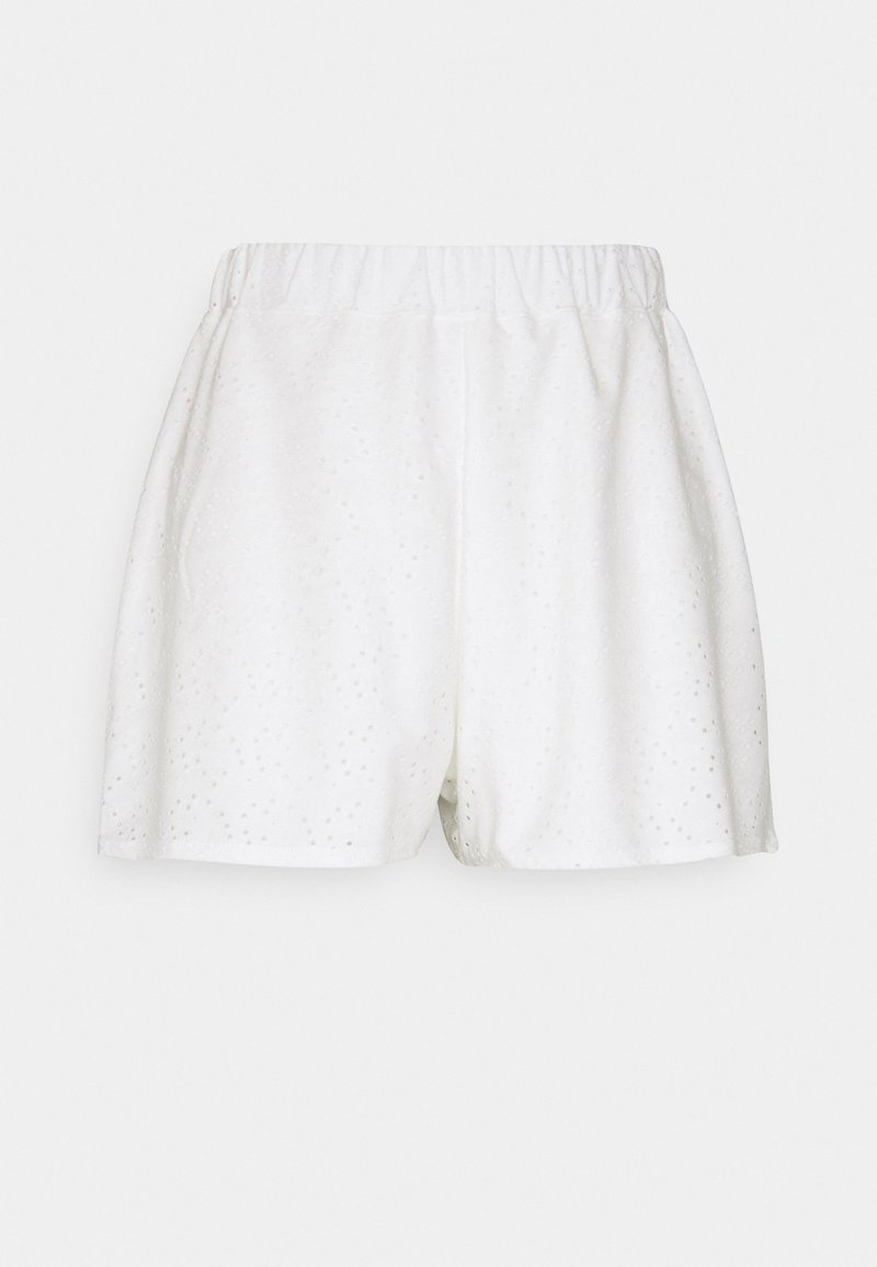 Missguided Petite - BRODERIE - Shorts - white