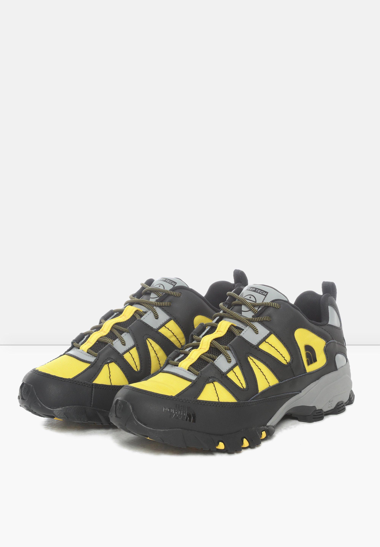 The North Face M STEEP TECH FIRE ROAD - Sneaker low - tnf black/lightning yelow/schwarz - Herrenschuhe fxqlR