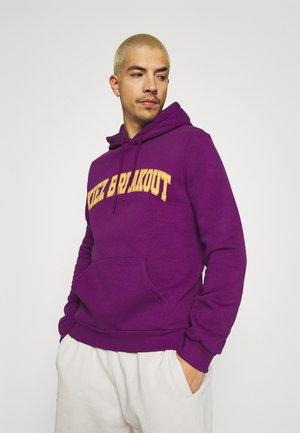 UNISEX - Jersey con capucha - purple
