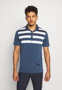 Puma Golf - PARS AND STRIPES - Funkční triko - dark denim - 0