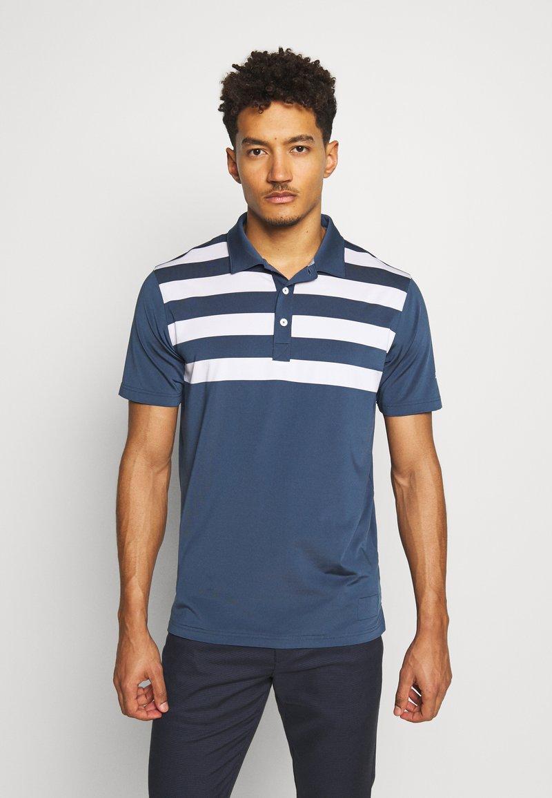 Puma Golf - PARS AND STRIPES - Funkční triko - dark denim
