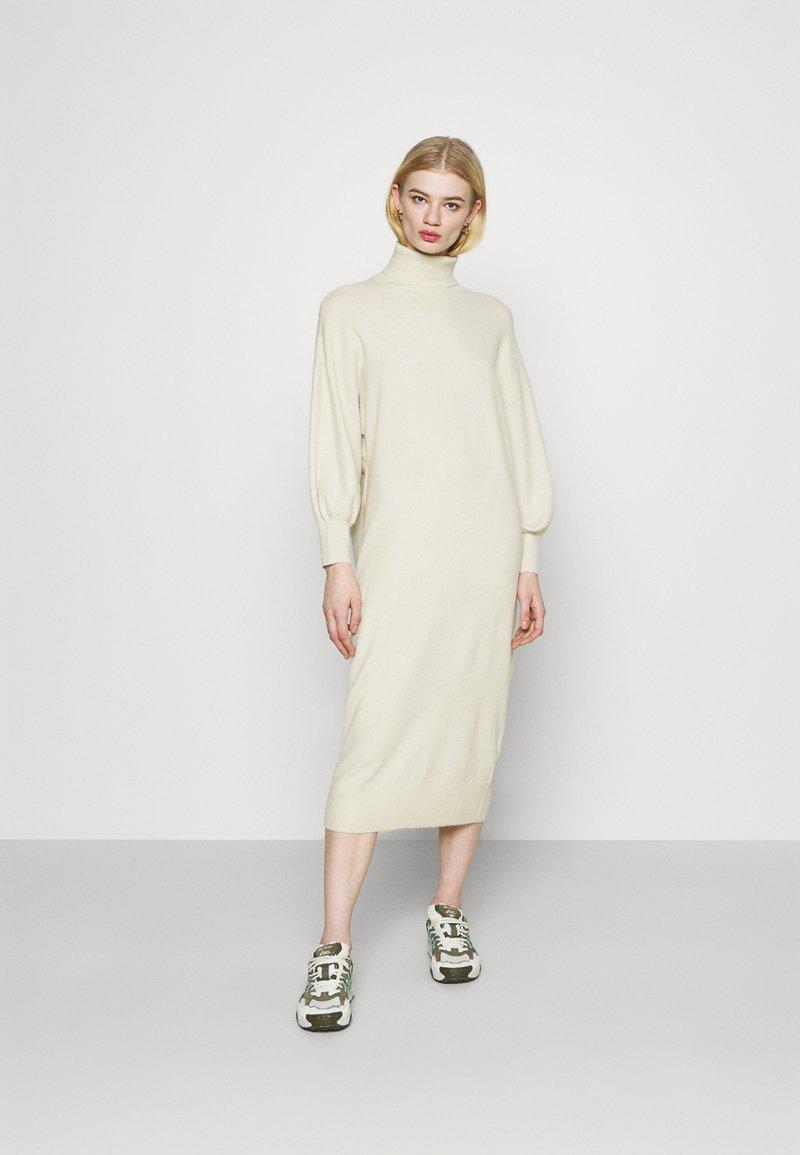 EDITED - GIA DRESS - Jumper dress - weiss
