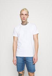Lee - TWIN CREW 2 PACK - T-shirt basic - white - 1