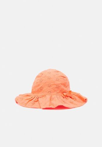 EYELET UNISEX - Klobouk - coral