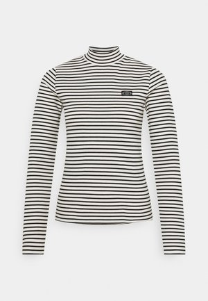 MINI BRETON STRIPE LONGSLEEVE  - Long sleeved top - white/black