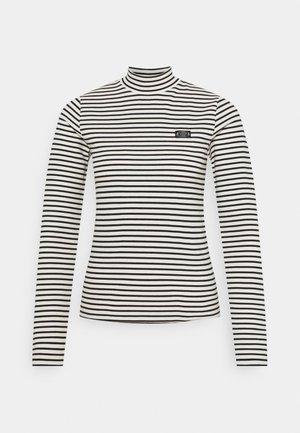 MINI BRETON STRIPE LONGSLEEVE  - Top sdlouhým rukávem - white/black