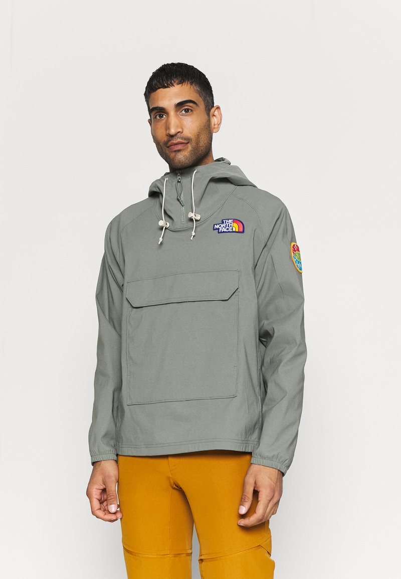 The North Face - PRINTED CLASS FANORAK - Windbreaker - agave green