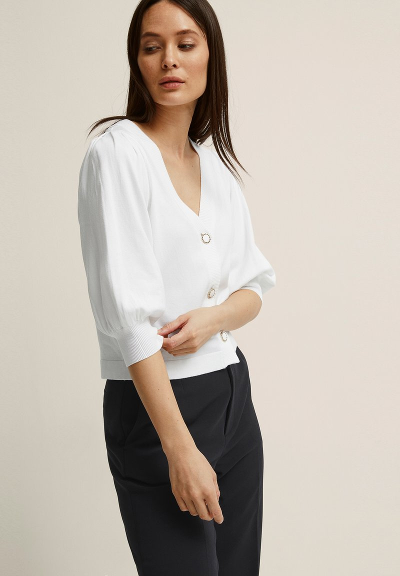STOCKH LM - DIONNE  - Cardigan - offwhite