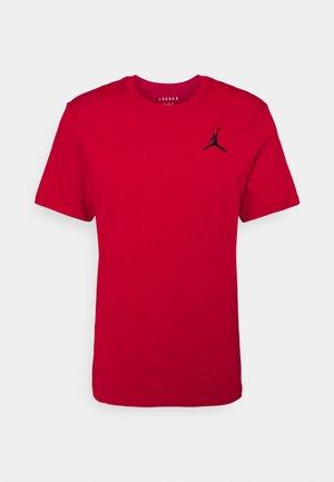 JUMPMAN CREW - T-shirts basic - gym red/black