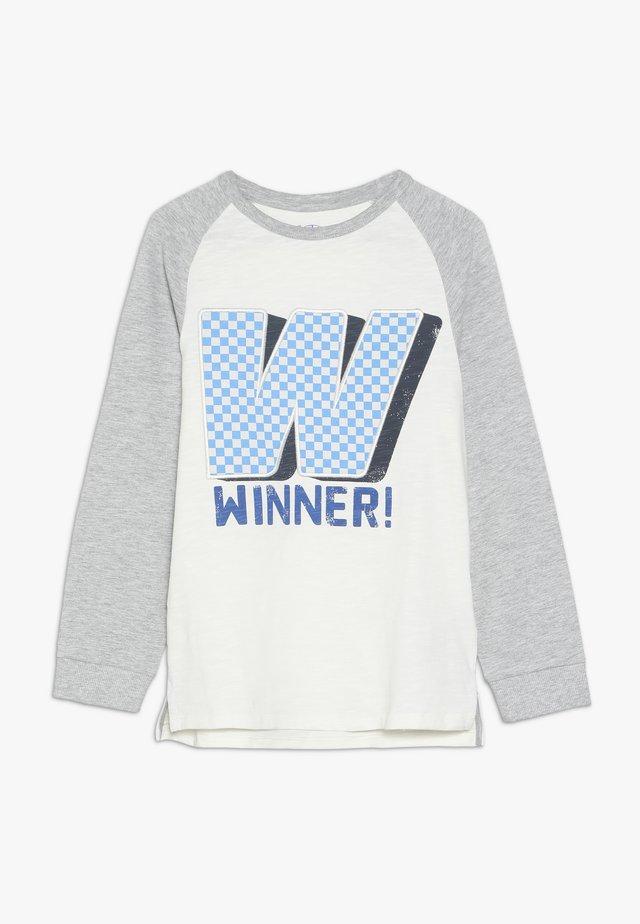 RAGLAN WINNER TEE - Pitkähihainen paita - multicolor