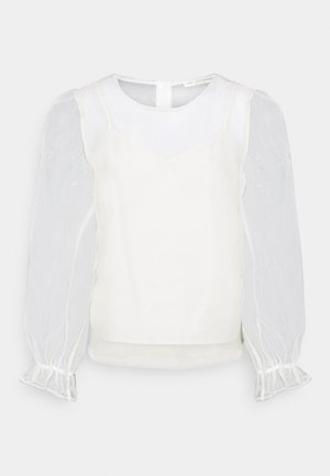 2-IN-1  - Long sleeved top - eggnog