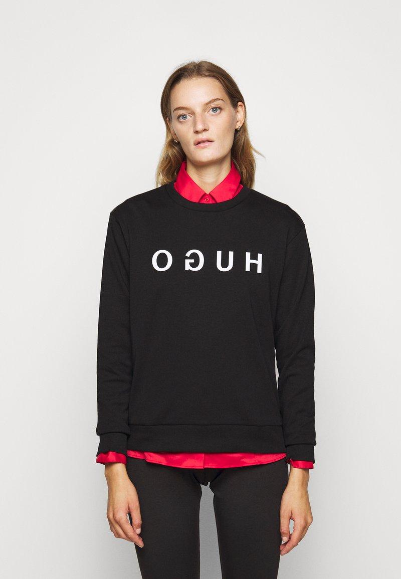 HUGO - Sweatshirt - black