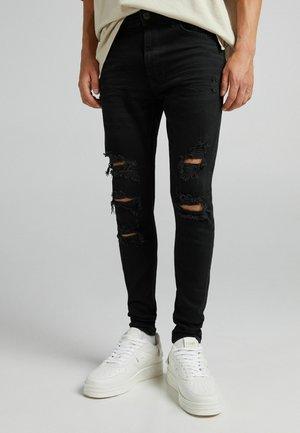 Rissen - Jeansy Skinny Fit - black
