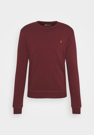 TIM CREW - Sweater - farah red marl