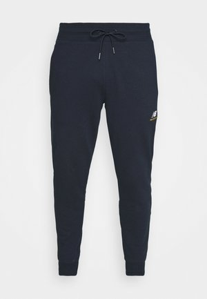 ESSENTIALS EMBRIODERED PANT - Träningsbyxor - dark blue