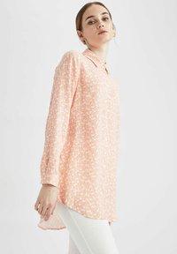 DeFacto - Button-down blouse - pink - 3