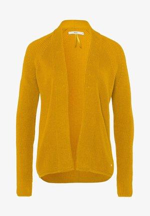 STYLE ANNA - Cardigan - dark yellow