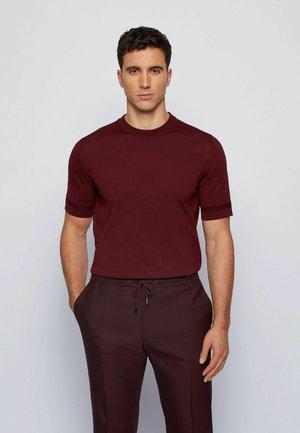 IMATTEO - Basic T-shirt - dark red