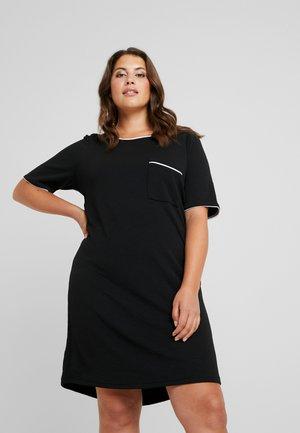 JRJAYDA KNEE DRESS - Robe en jersey - black